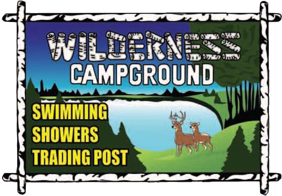 Wilderness Campground Sign